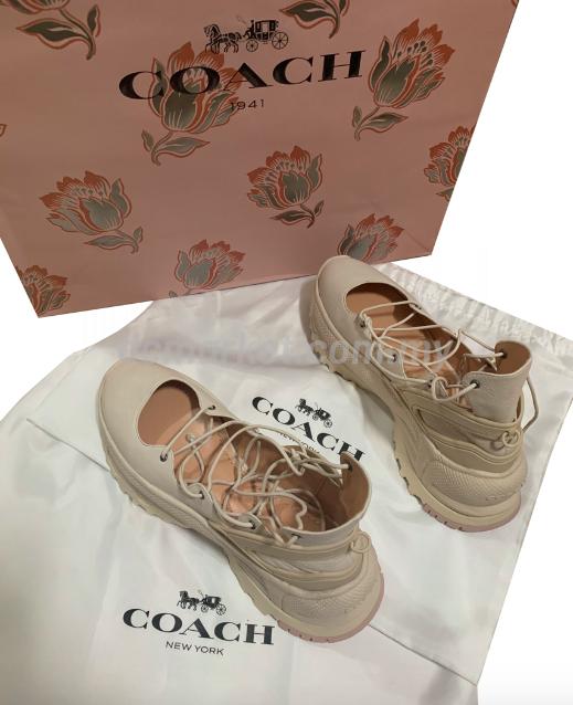 COACH Lace Up Ballerina Sneaker – DCMarket